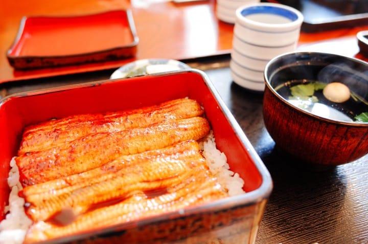 錦水鰻魚飯