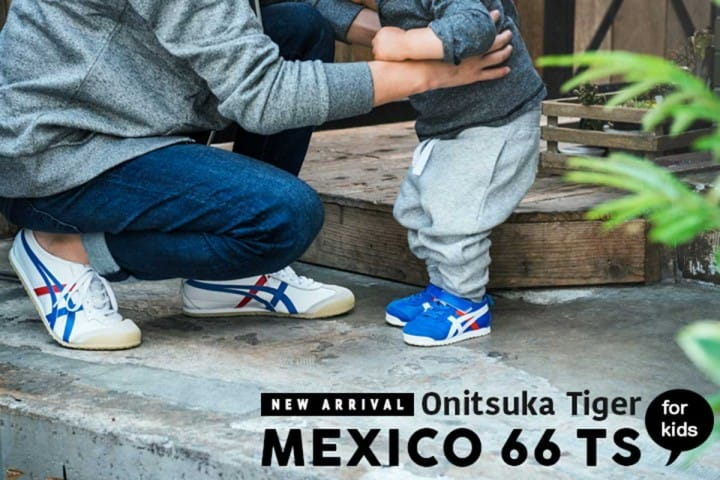 Onitsuka Tiger's MEXICO 66 TS: Kids Shoes At Discount Prices in Japan!