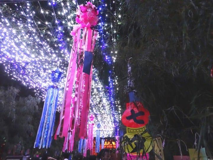 『大阪』四天王寺七夕祭:在閃耀銀河隧道中許願吧!