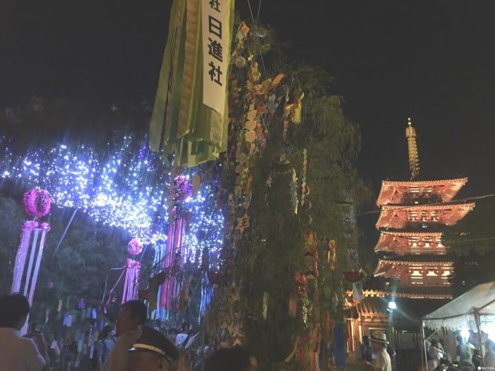 『大阪』四天王寺 七夕之夜地上銀河閃耀