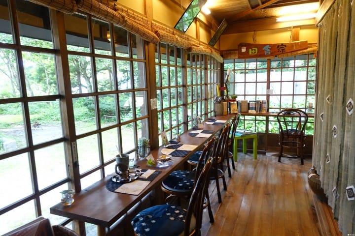【鳥取】坐落山林,大山三百年建築咖啡店「田舍家」
