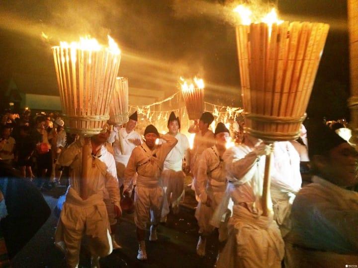 """【北海道】舞动烈焰!""""那智美瑛火祭""""魄力满点的华丽竞演!"""