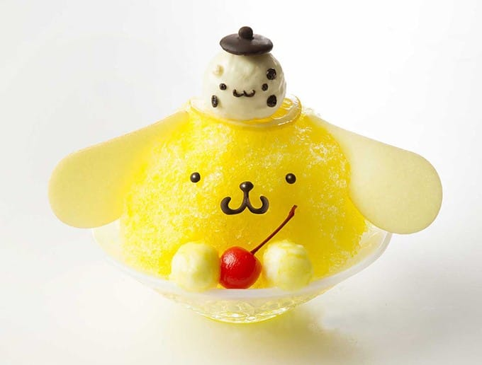"""可爱度爆表!""""Pompompurin Café""""布丁狗咖啡厅夏季限定刨冰!"""