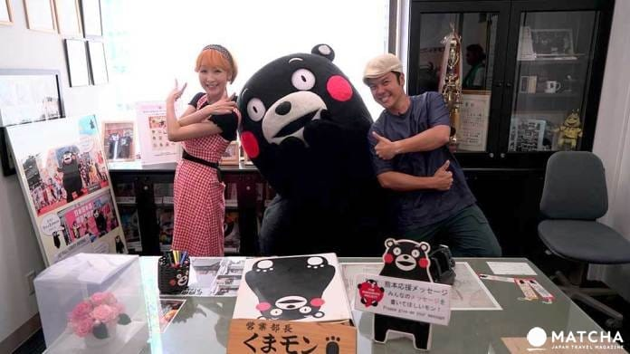 进击九州~熊本熊办公室探班去!