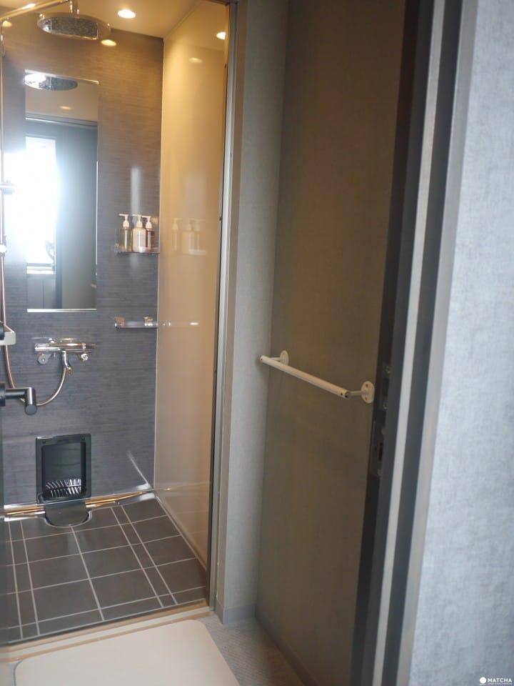 THE MILLENNIALS KYOTOโซนอาบน้ำ