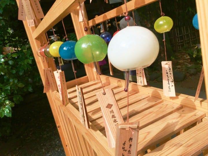 Enmusubi Fuurin Festival at Kawagoe Hikawa Shrine