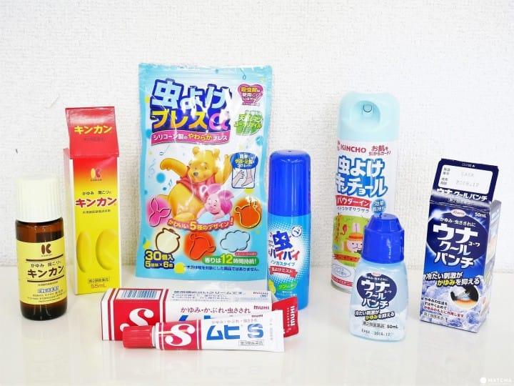 在日本被虫咬了怎么办?抹茶告诉你必备的防虫喷雾和止痒药