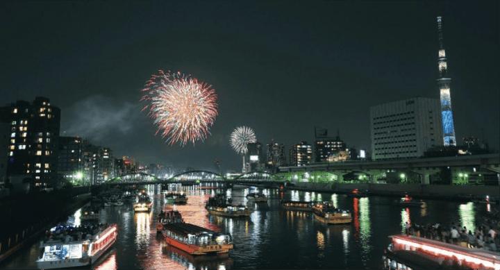 東京必看花火!第40回「東京隅田川花火大會」7/29(六)絢爛登場!