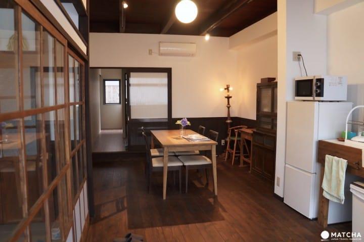 體驗京都的在地人生活!超過百年屋齡的町屋民宿「Kyoto Knot Vacation House」