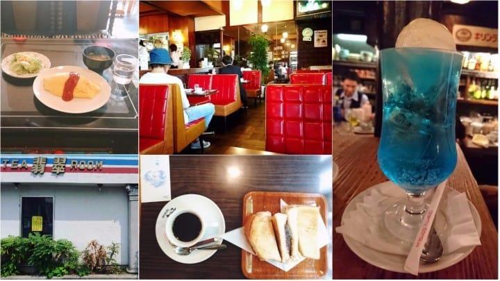 穿越时空的咖啡馆!日本吃茶店特色大解密