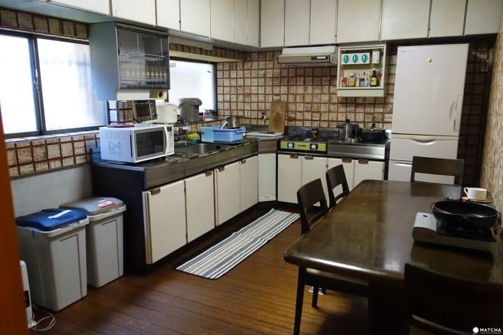 末廣之宿。廚房
