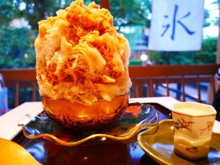 オールシーズン楽しめる、京都の絶品「かき氷」