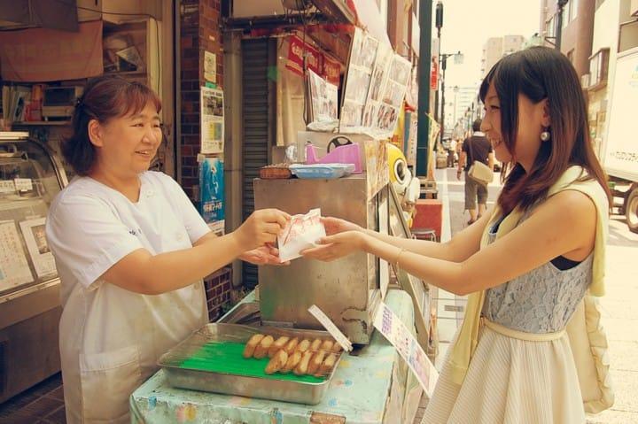 【戸越銀座商店街】逛街必看!抹茶教您5个逛街买零食常用日语~