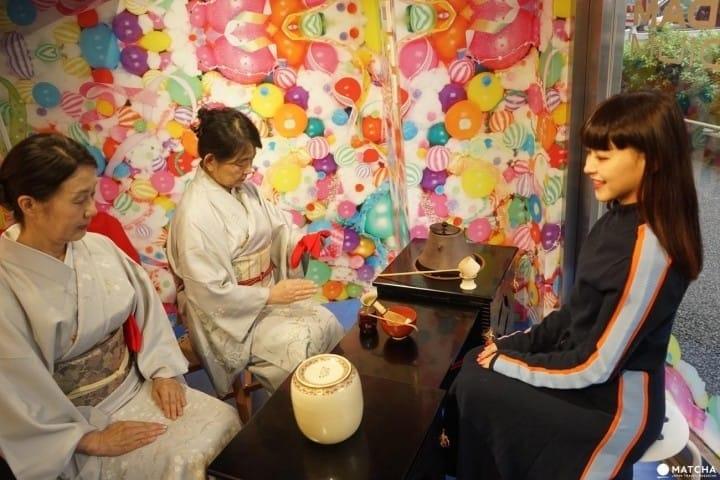 東京原宿MOSHI MOSHI BOX太貼心!免費Wifi、和服體驗都在這