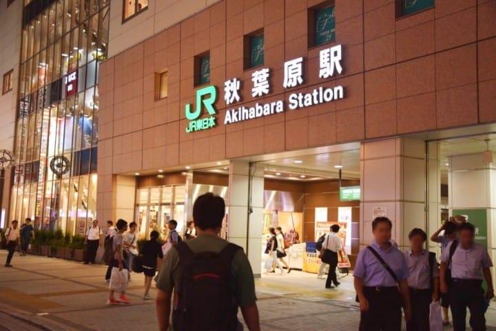 【秋葉原】從新宿、澀谷、上野、東京出發至秋葉原的交通方式