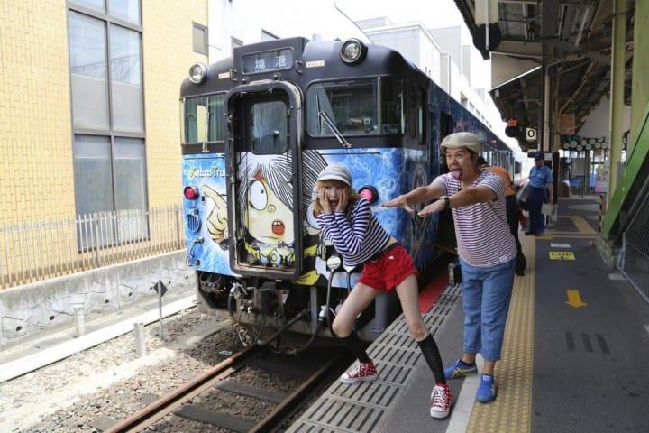 『鳥取縣』坐上鬼太郎列車撞「妖」去!