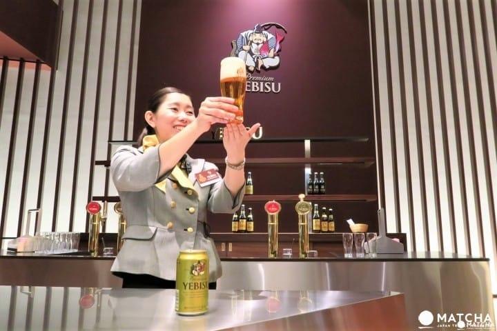 喝啤酒,就到有100年歷史的「惠比壽啤酒記念館」!