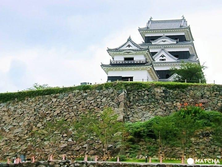 【四國百大名城】愛媛縣的珍貴木造天守「大洲城」!