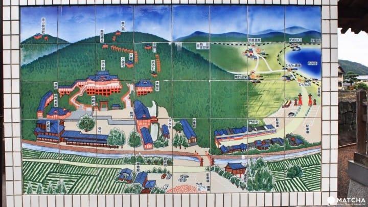 佐賀縣祐德稻荷神社-賞楓地圖