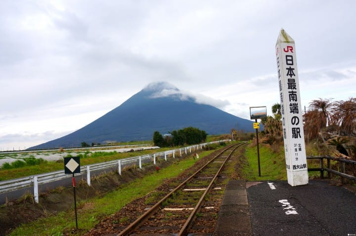『鹿儿岛』到JR日本最南端车站招唤幸福!黄色邮筒&幸福之钟传说