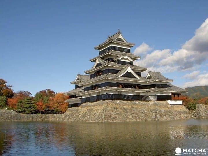 【長野縣】日本最古老5重6層建築的天守閣所在的松本城〜交通・魅力之地〜