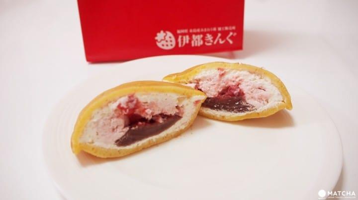福岡天神點心-草莓銅羅燒