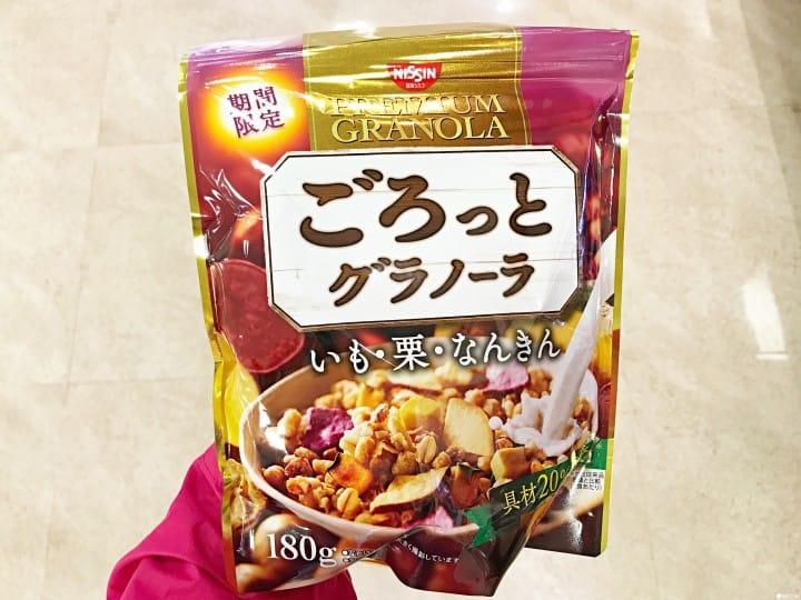 日本秋天超市便利商店 日清麥片