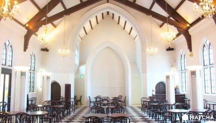 """旧教会变身神户""""FREUNDLIEB生田店""""咖啡馆,这里有一段美好的下午茶时间"""