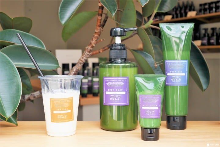 Yanaka OSAJI Amazake And Organic Cosmetics Shop: Souvenirs For You!