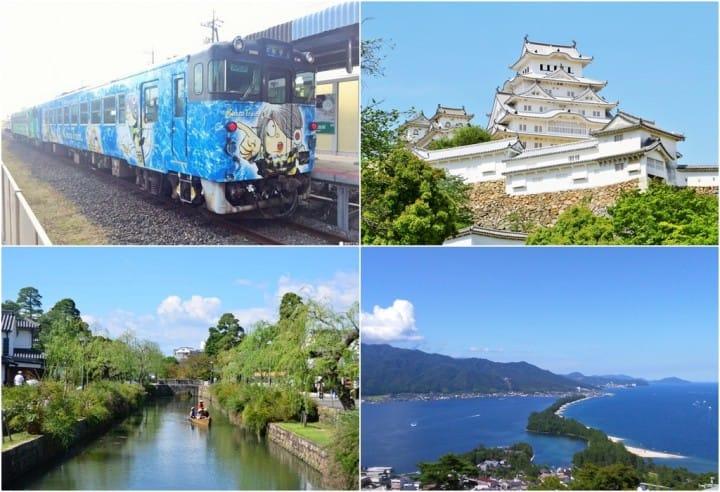 """西日本这么大!远离京阪神,用""""关西广域铁路周游券""""踩点去!"""