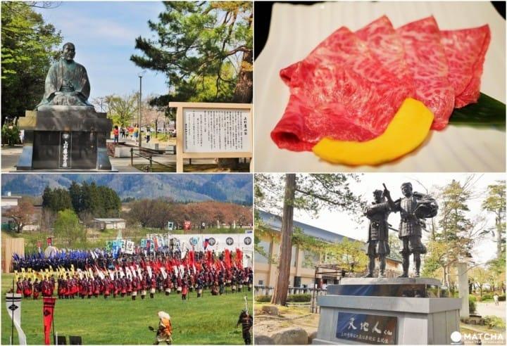 【山形】充滿上杉一族足跡與和牛香的城町─米澤市