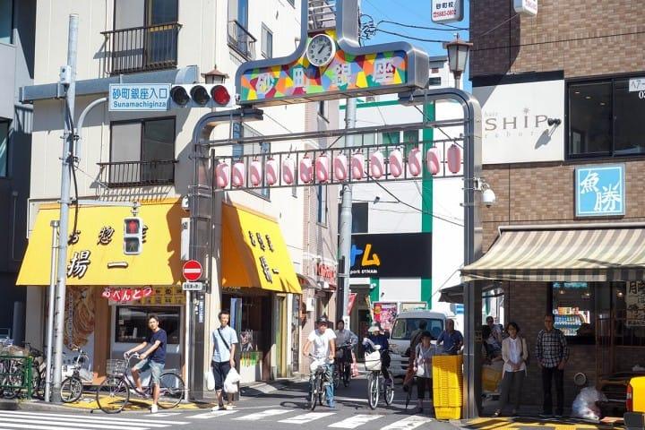 都營一日通票:砂町銀座商店街 入口