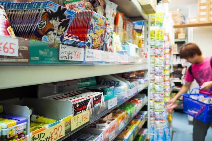 都營一日通票:エワタリ零食專賣店