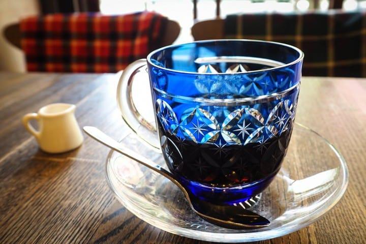 都營一日通票:SUMIDA咖啡 江戶切子玻璃咖啡
