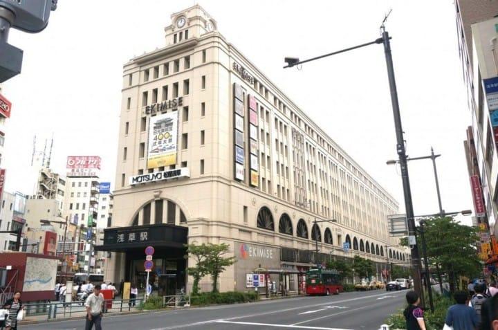 東武線淺草駅