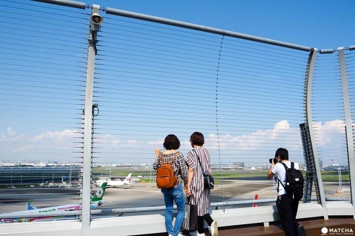 羽田機場國際航廈 飛機展望台2
