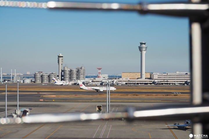 羽田機場國際航廈 飛機展望台3