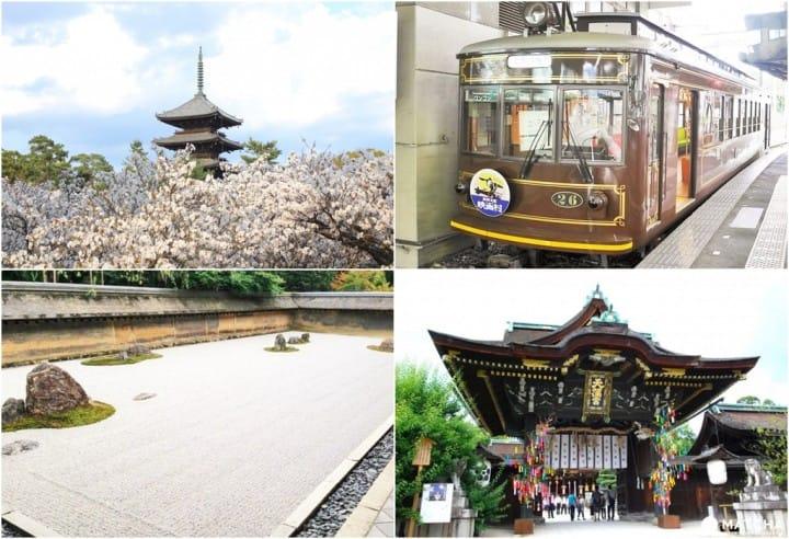 京都嵐電之「北野線」:嵐山前的跳站一日遊
