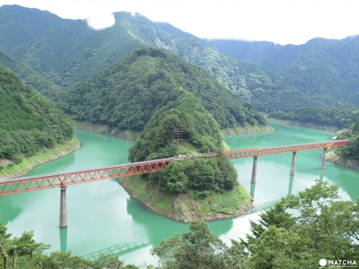 【靜岡】再遠也值得一去的秘境車站!大井川鐵道「奧大井湖上站」