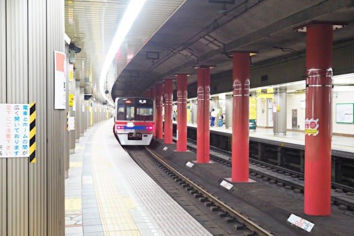羽田機場 京急線