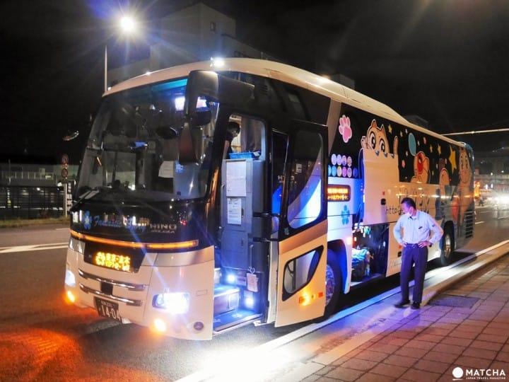"""揭开省钱跑遍日本,深夜跑透透的""""夜间巴士""""素颜大公开"""