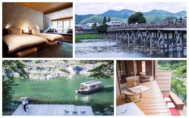 乘坐小舟飄向京都・嵐山的「虹夕諾雅京都」旅館 抹茶給你講述不得不來的5個理由~