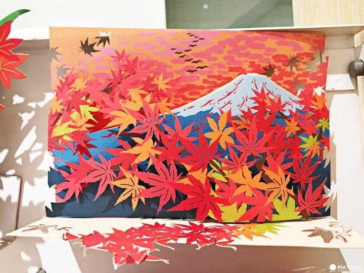 日本人秋天做這6件事 秋季卡片