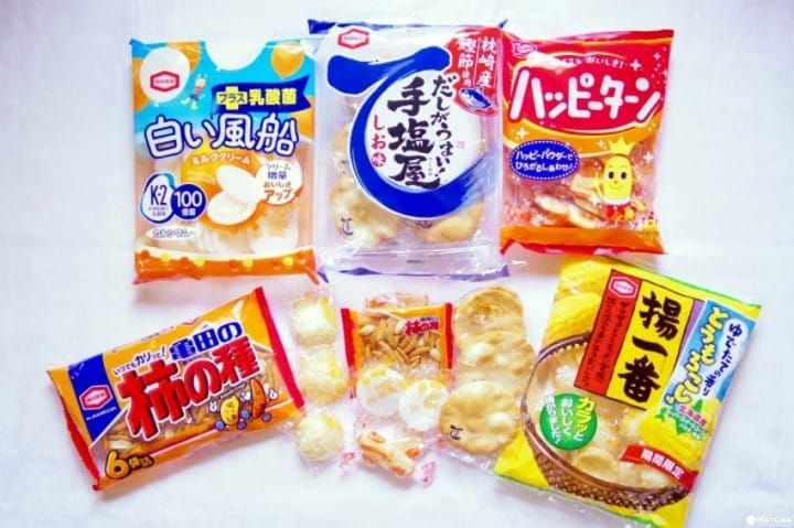 Rice Crackers - Find Your Favorite Type Of Senbei!