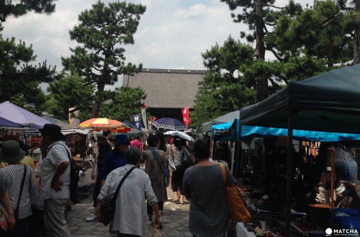 【京都】絕不能錯過!荷包失血也要逛的京都市集