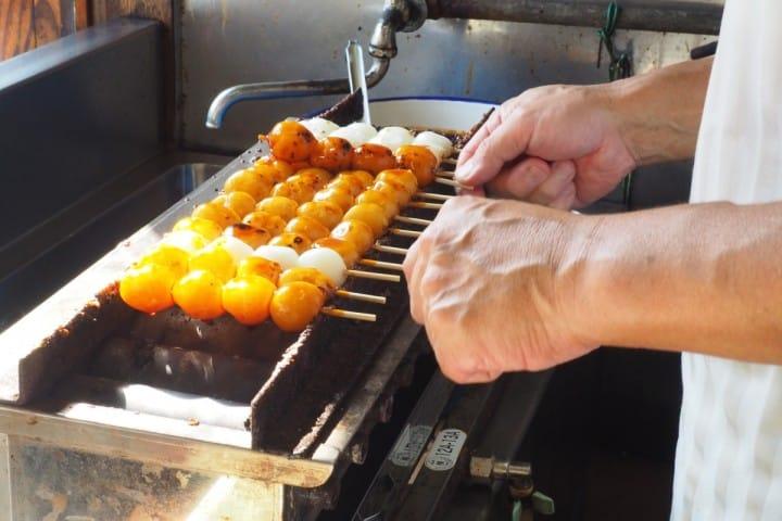 川越美食地圖 松山商店 烤糰子