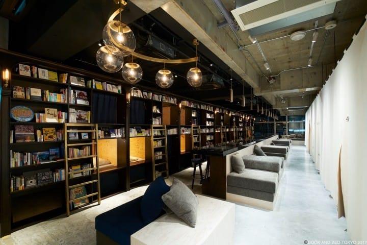 寝るのがもったいない!泊まれる本屋「BOOK AND BED TOKYO」浅草店