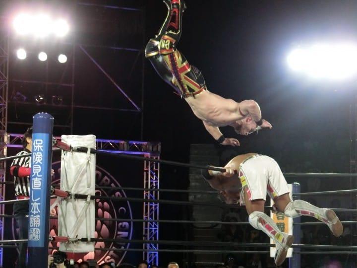 Japanese Wrestling Report: A New Japan Pro-Wrestling Match!