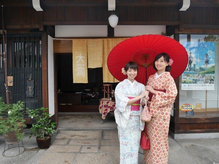 """Menikmati Wisata dalam Film """"Kimi no Na Wa"""" di Hida Furukawa, Gifu"""