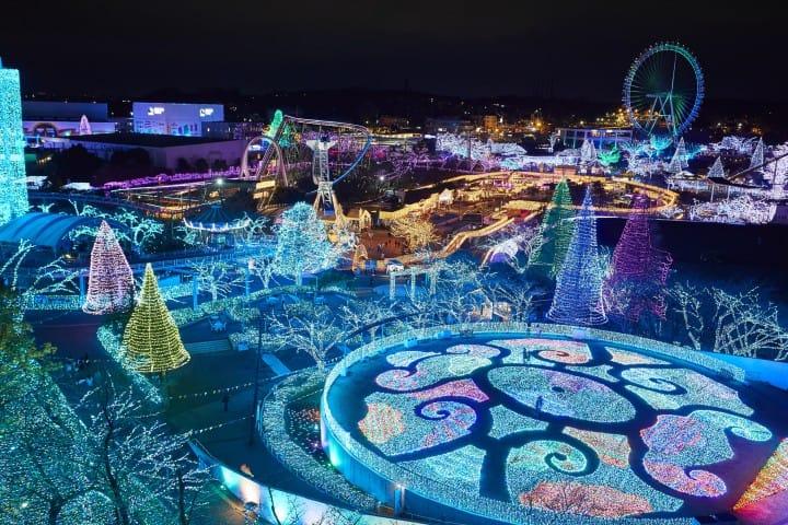 2017東京聖誕景點燈飾 京王讀賣樂園 Jewellumination